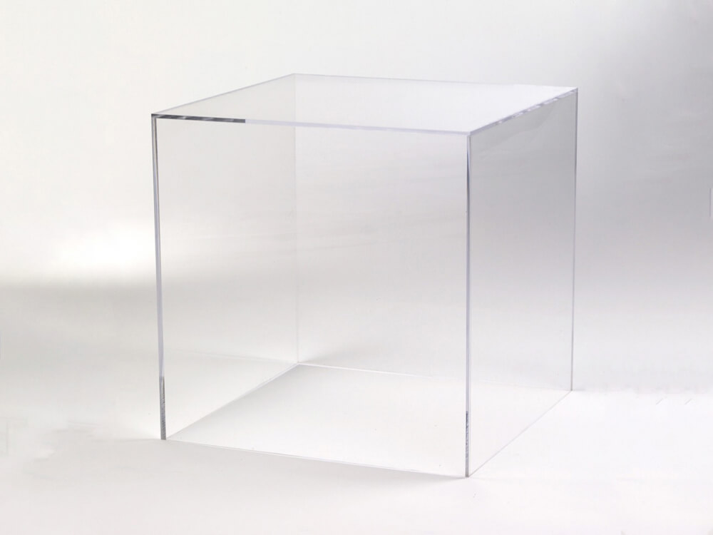 Cube Plexi Transparent Tendance Location
