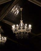 lustre décoration location cristal