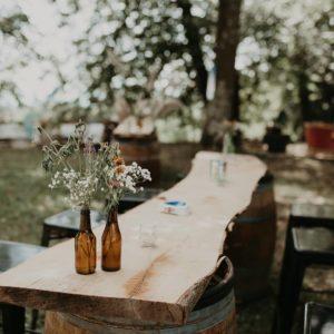 tonneau location Mobiliers décorations événement agence mariage réception