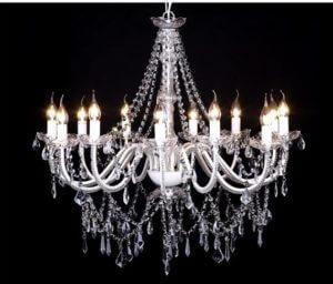 lustre luminaire décoration location Mobiliers décorations événement agence mariage réception